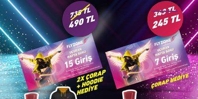 Türkiye'nin En Büyük Trambolin Parkı Flyzone, Bu Hafta Sonu Fırsat Dolu